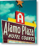 Alamo Plaza Hotel Dallas Metal Print