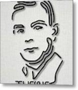 Alan Turing Metal Print