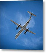 Alaska Airlines Turboprop Metal Print