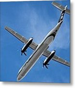 Alaska Airlines Turboprop Wide Version Metal Print