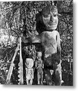 Alaska: Eskimo Grave Metal Print