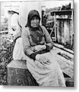 Alaska Eskimo Woman Metal Print