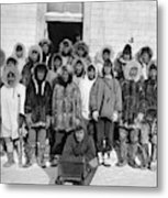 Alaska Eskimos, C1916 Metal Print
