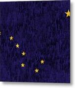 Alaska Flag Metal Print