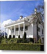 Alaska Governors Mansion Metal Print