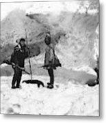 Alaska Hunters Metal Print