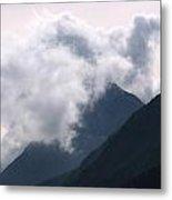 Alaska Mountaintop Metal Print