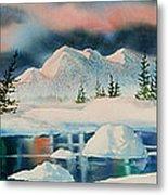 Alaska Panorama Metal Print