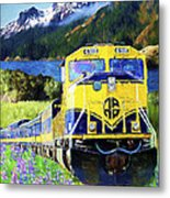 Alaska Railroad Metal Print