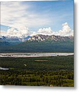 Alaska Range Metal Print by Chris Heitstuman