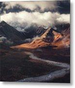 Alaska Range Metal Print