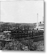 Alaska Riverboat Metal Print