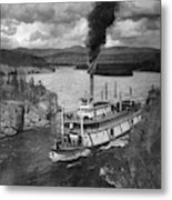 Alaska Steamboat, 1920 Metal Print