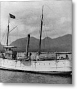 Alaska Steamboat Metal Print