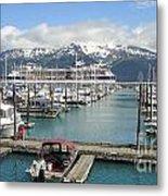 Alaskan Marina Metal Print