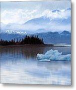 Alaskan Mountain Side Metal Print