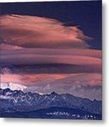 Alayos Mountains At Sunset In Sierra Nevada Metal Print