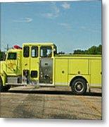 Albany Community Volunteer Fire Dept.  702 Metal Print