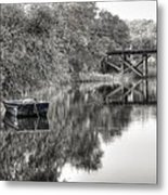 Albergottie Creek Trestle Metal Print