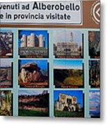 Alberobello Italy Metal Print