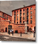 Albert Dock A Different View Metal Print