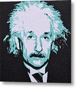 Albert Einstein Metal Print