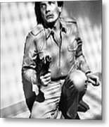 Albert Finney In Looker  Metal Print by Silver Screen