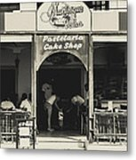 Albufeira Street Series - Martinique Velha Metal Print