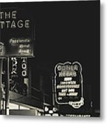Albufeira Street Series - The Cottage II Metal Print