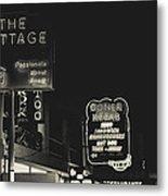 Albufeira Street Series - The Cottage II Metal Print