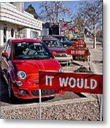 Albuquerque's Route 66 Diner Metal Print