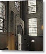 Alcatraz Doorway To Freedom Metal Print by Daniel Hagerman