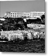 Alcatraz Federal Prison Metal Print by Benjamin Yeager