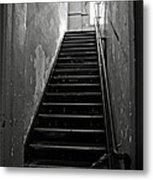 Alcatraz Hospital Stairs Metal Print