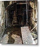 Alcatraz Island Morgue Metal Print