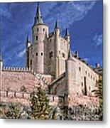 Alcazar Of Segovia Metal Print