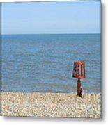 Aldeburgh Beach Metal Print