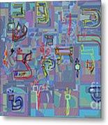 Alef Bais 1e Metal Print