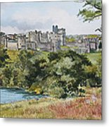 Alnwick Castle Metal Print
