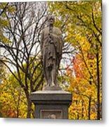 Alexander Hamilton Statue Metal Print