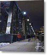 Alexandra Bridge Metal Print