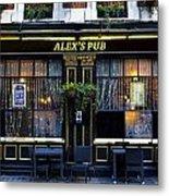 Alex's Pub Metal Print