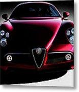 Alfa Romeo 8c Metal Print