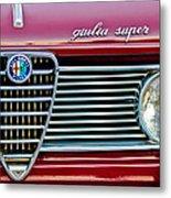 Alfa-romeo Guilia Super Grille Metal Print