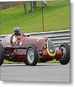 Alfa Romeo On Sam Posey Straight Metal Print