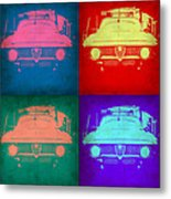 Alfa Romeo  Pop Art 1 Metal Print