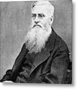 Alfred Russel Wallace (1823-1913) Metal Print
