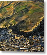 Alhama De Granada Volcanic Lands Metal Print