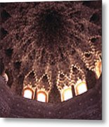 Alhambra Sculpted Domed Ceiling Metal Print