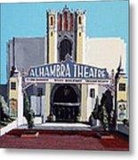 Alhambra Theatre Metal Print